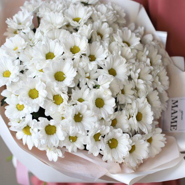 Букет и Ромашковых хризантем 11шт №900 - Фото 2