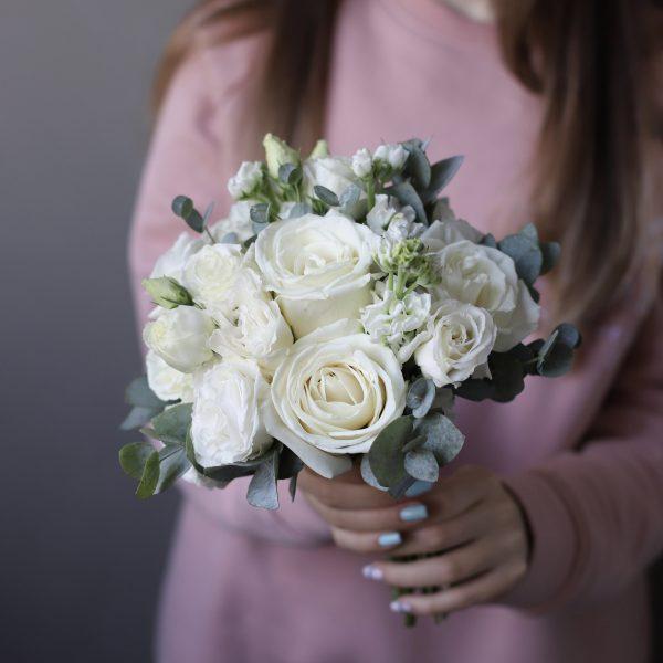 Белый букет невесты №987 - Фото 1