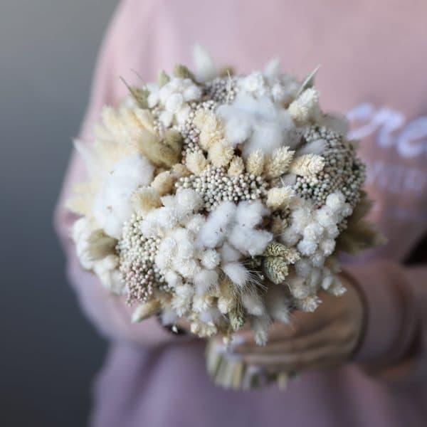 Свадебный букет из сухоцветов №985 - Фото 1