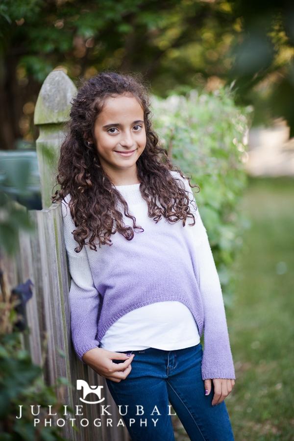 photograph of girl by Julie Kubal
