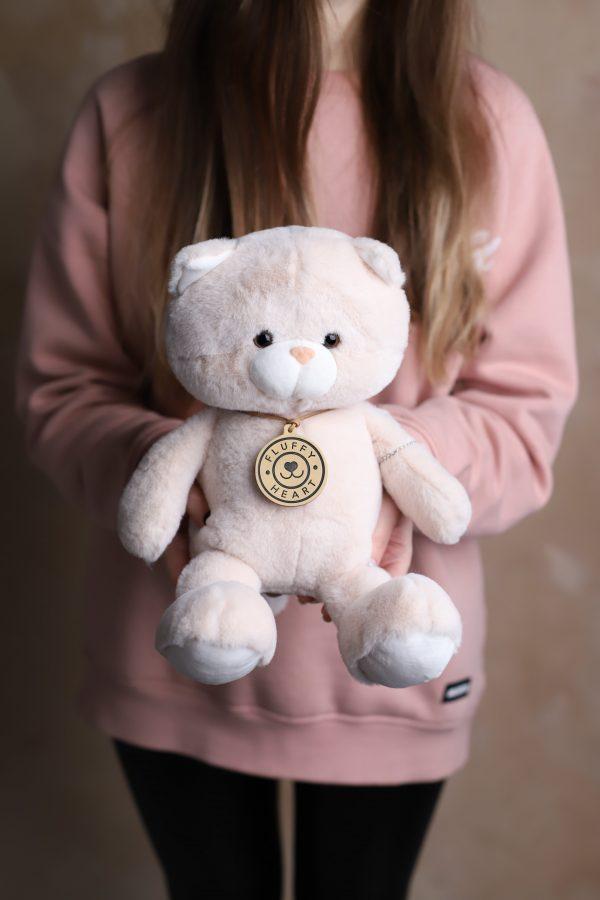 Мишка Fluffy Heart - Мягкая игрушка №932 - Фото 1