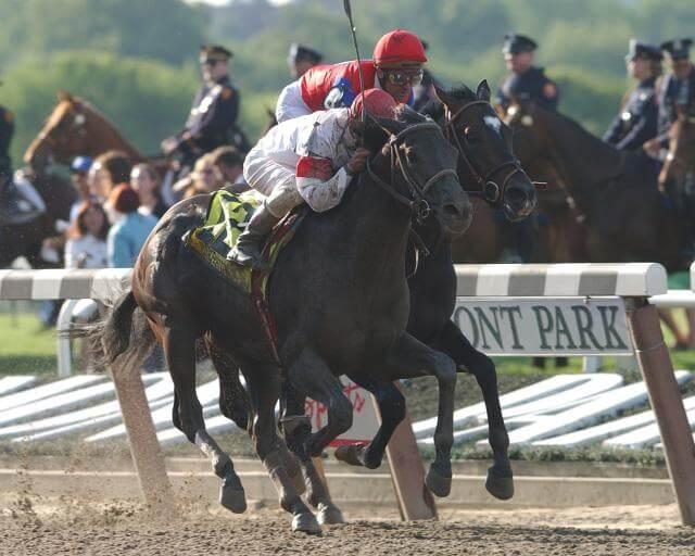 Sarava 2002 Belmont Stakes Long-Shot Winner