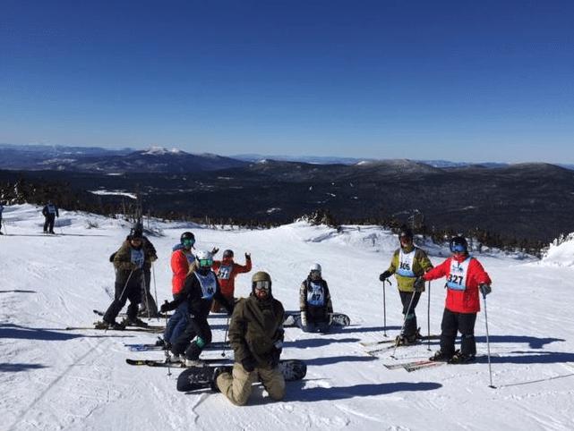 Acadia Insurance at WinterKids Downhill24 1