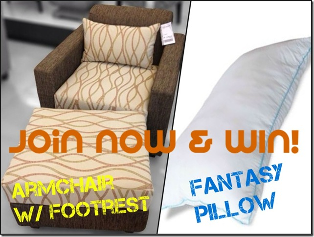 Join The Tummy Traveler's Mandaue Foam Giveaway to get a chance to win any of these awesome stuff!