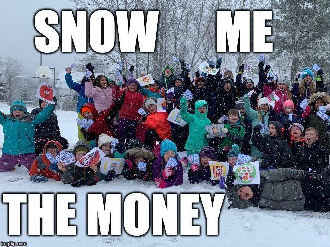 Leroy H Smith School Winter Games 2020 Week 2 MEME