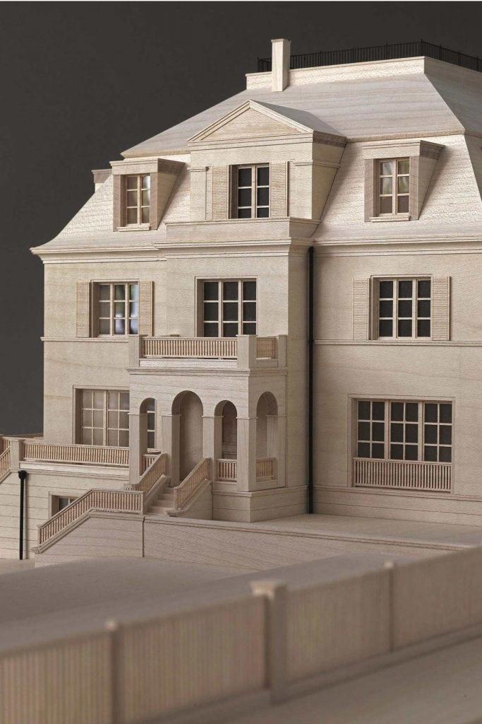 Dahlem Duo Architekturmodell