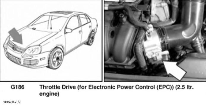 EPC loation diagram 2009 VW Jetta