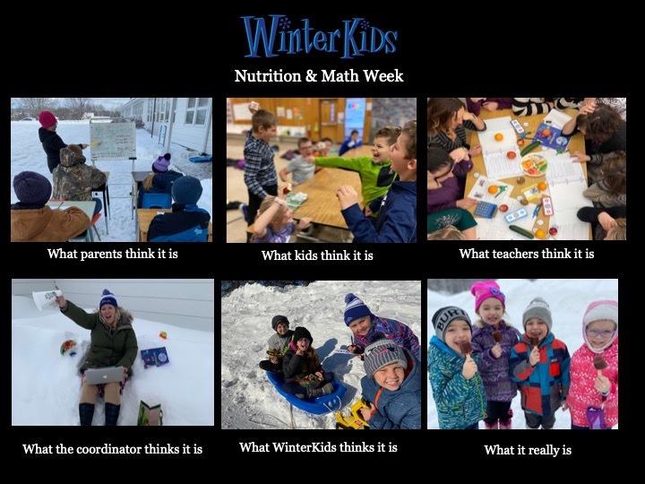 Dr Levesque Elementary School Winter Games 2020 Week 2 MEME