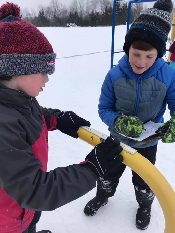 Glenburn Elementary School Winter Games 2020 Week 1