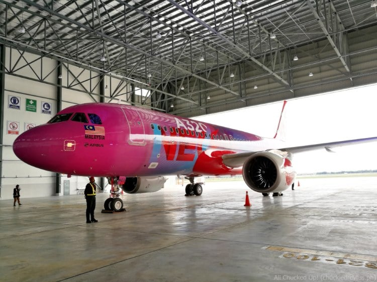 philippines-airasia-airbus a320neo-welcoming-ceremony