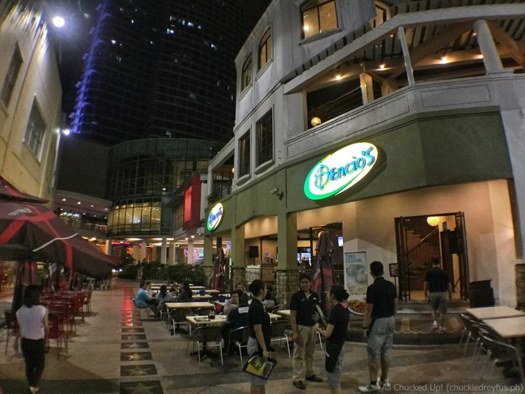 Dencio's Bar and Grill - Eastwood Entrance