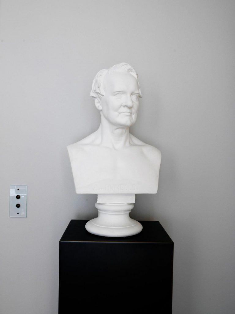 Decorative bust by Alexander von Humboldt