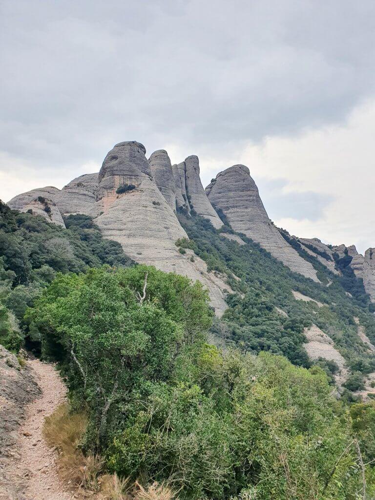 Montserrat - day trip from Barcelona - San Jeroni Hike