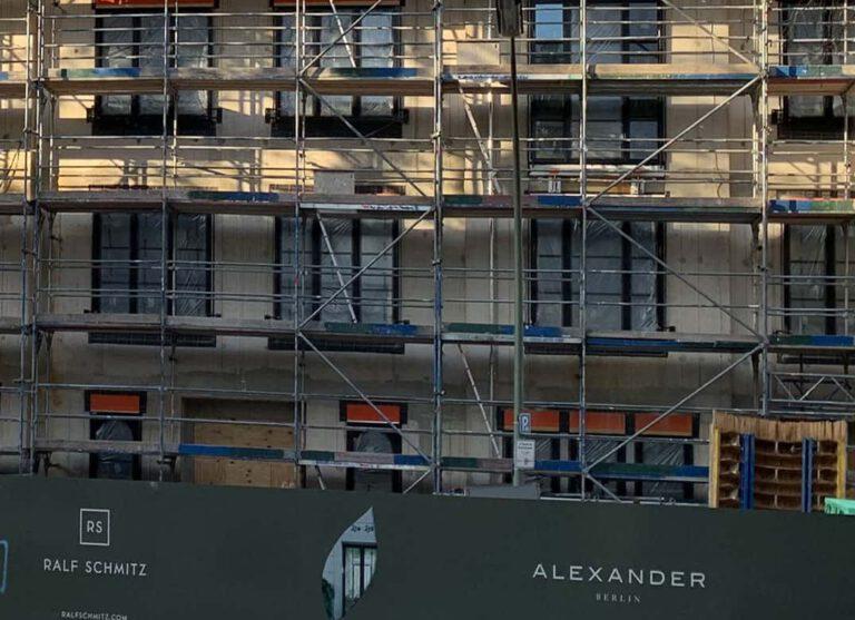 Berlin-Charlottenburg-Emserstrasse-Rohbau-Fassade
