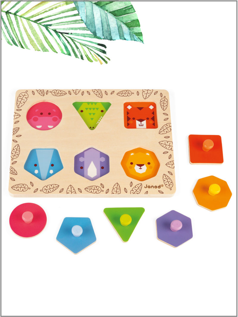 frederickandsophie-kids-toys-janod-france-geometric-jungle-puzzle-shapes