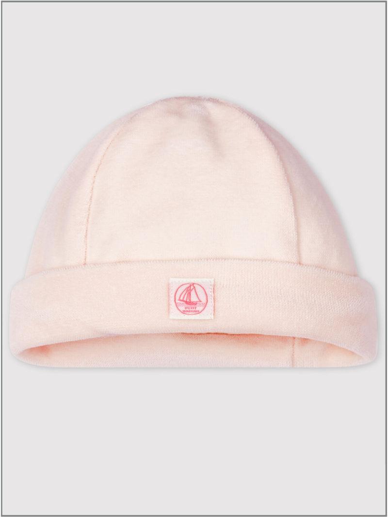 frederickandsophie-kids-soft-wear-petitbateau-france-newborn-baby-hat-bonnet-organic-pink