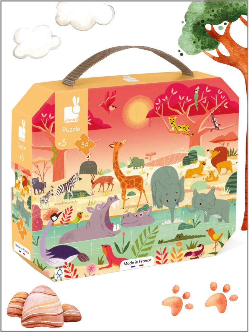 frederickandsophie-kids-toys-janod-france-safari-animal-puzzle-suitcase