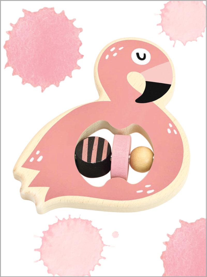 frederickandsophie-toys-vilac-wooden-flamingo-rattle