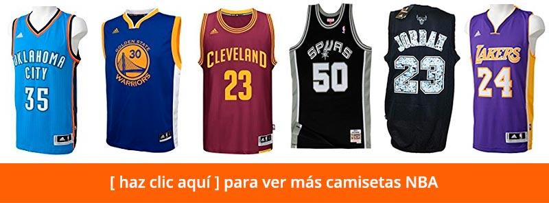 Ver más camisetas NBA