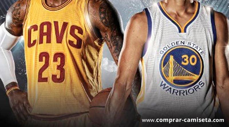 Camisetas de la NBA. Lebron James, Stephen Curry,