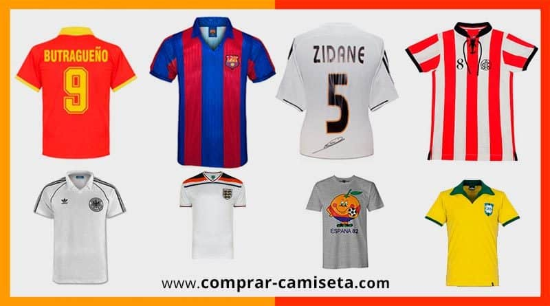 Camisetas de Fútbol Retro