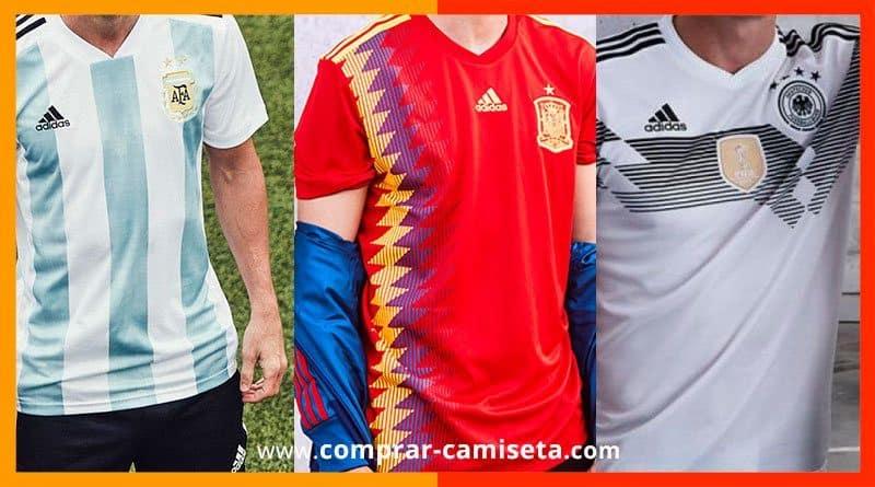 Comprar camisetas-selecciones de Fútbol del Mundial