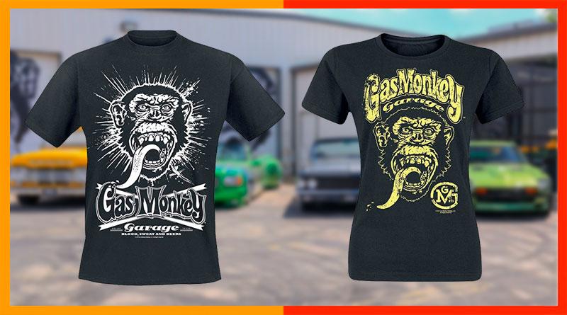 Las mejores Camisetas Gas Monkey Garage: precios y comparativa