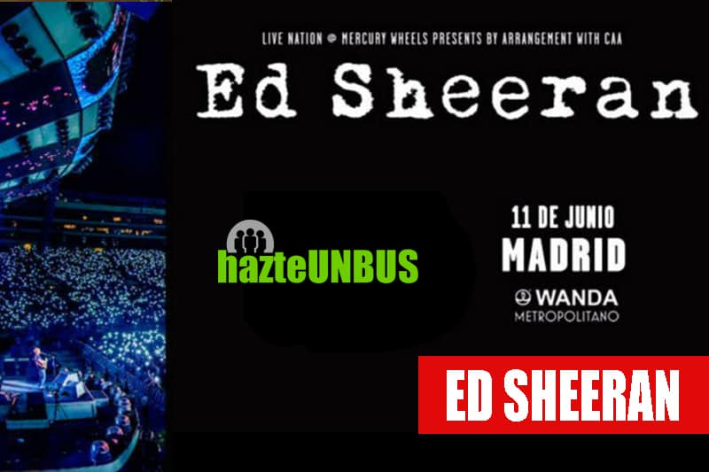 11Viaje en bus concierto Ed Sheran