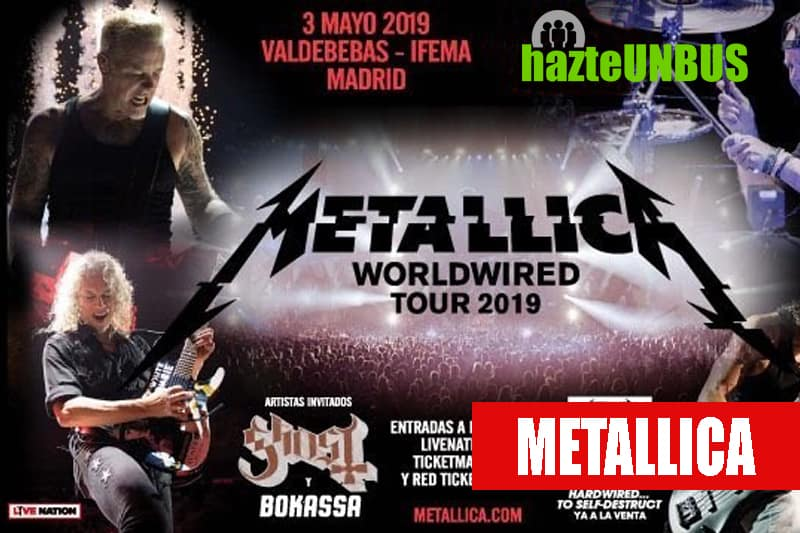 11Viaje a Madrid al Concierto de Metallica