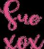 Signature for Create With Sue website