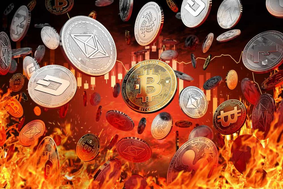 the cryptocurrency crash