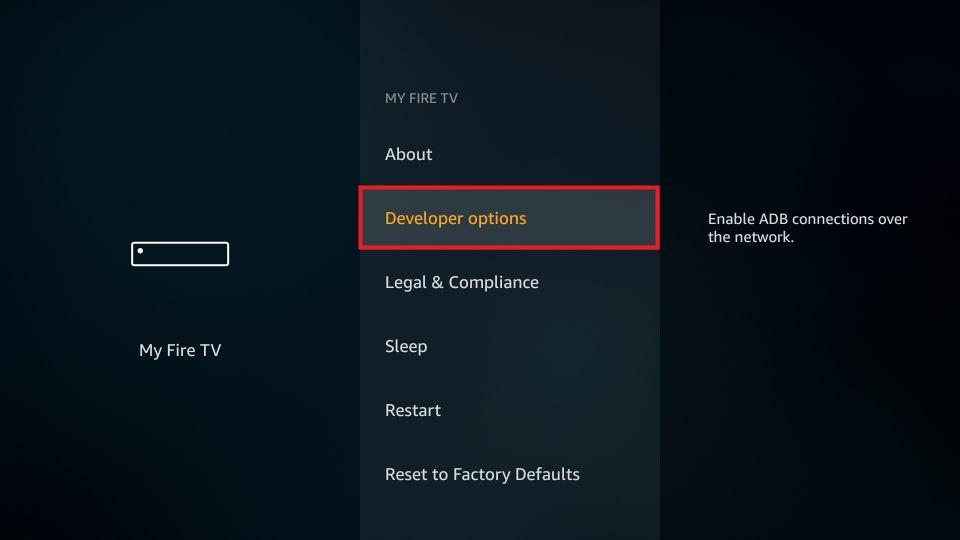 steps to install morphix tv on firestick