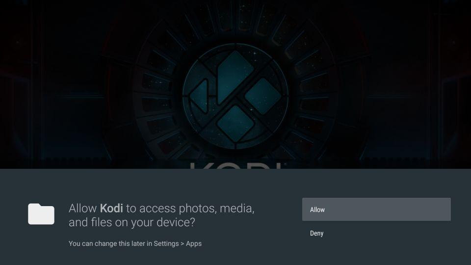 How to set up kodi on nvidia shield