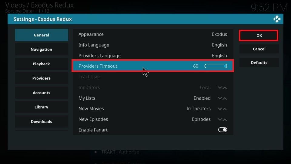 Fix no streams error on Kodi