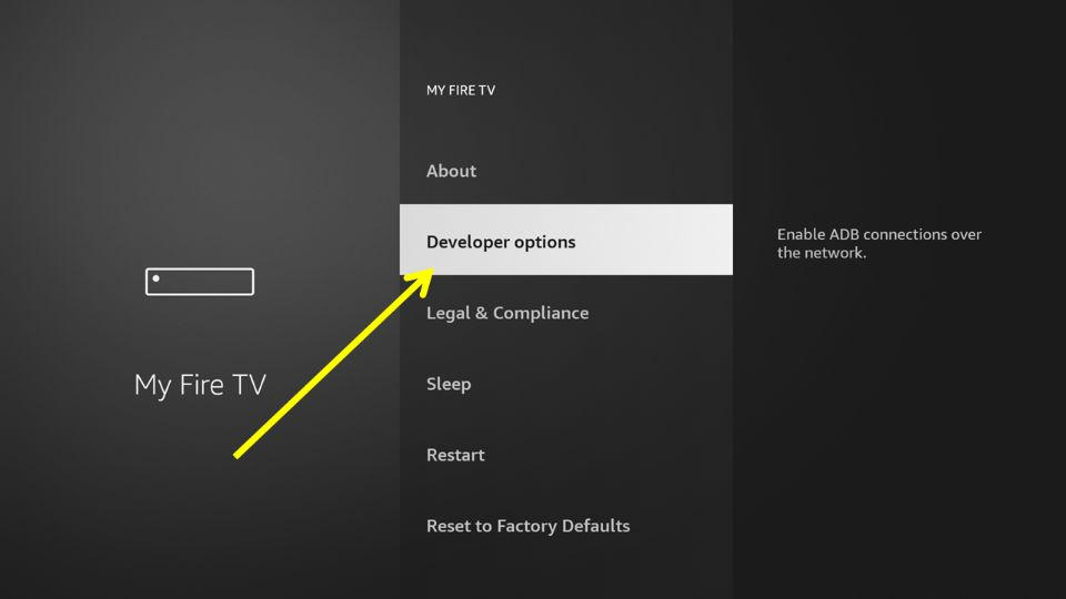 how to install AOS TV APK on FireStick