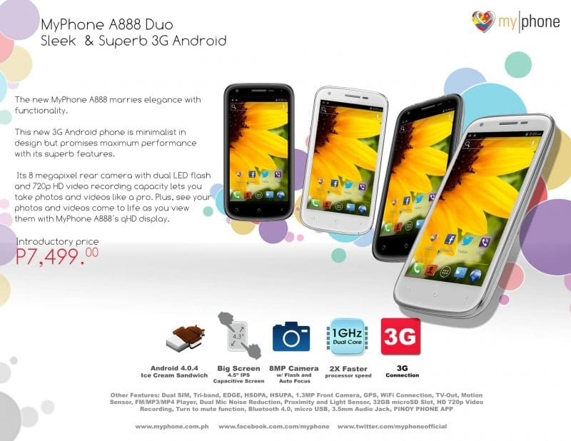 The MyPhone A888 Duo