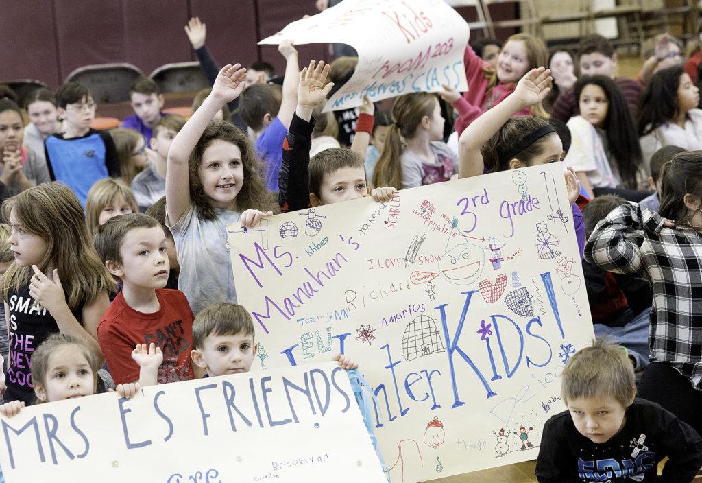 Auburn students take WinterKids challenge