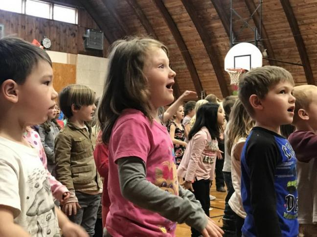 WES Ends WinterKids in Song