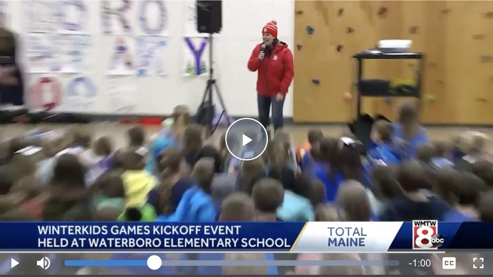 WinterKids Winter Games kick off in Waterboro