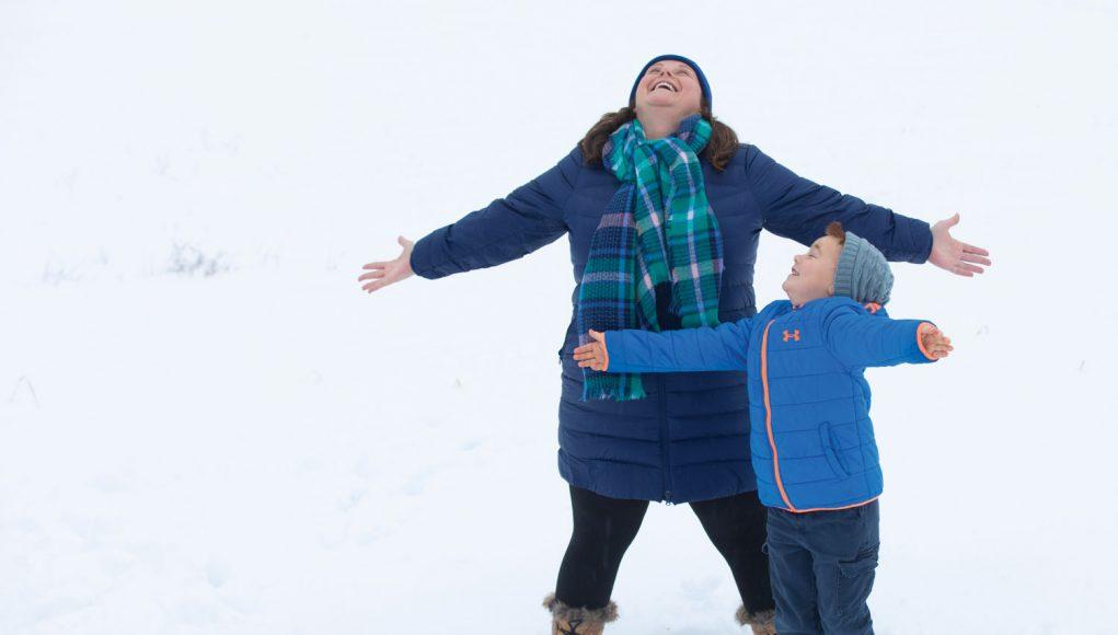 Snow Queen: How Julie Mulkern helps Maine kids get outside in winter.
