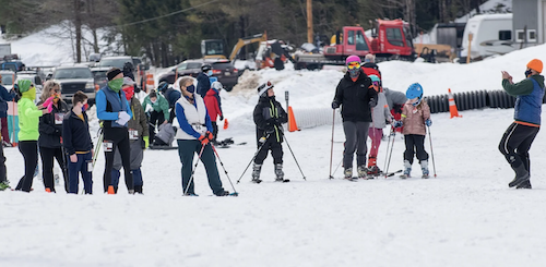 Photo Album: Snowshoe Racers Raise Funds at Lost Valley