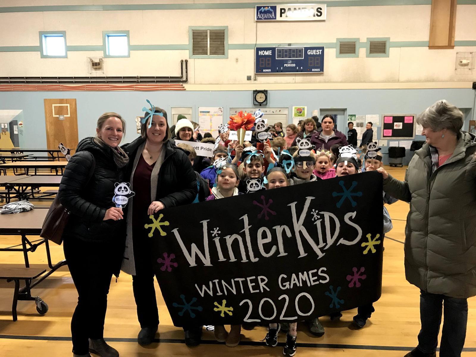 Morgan Hynd WinterKids Winter Games at Prescott Memorial