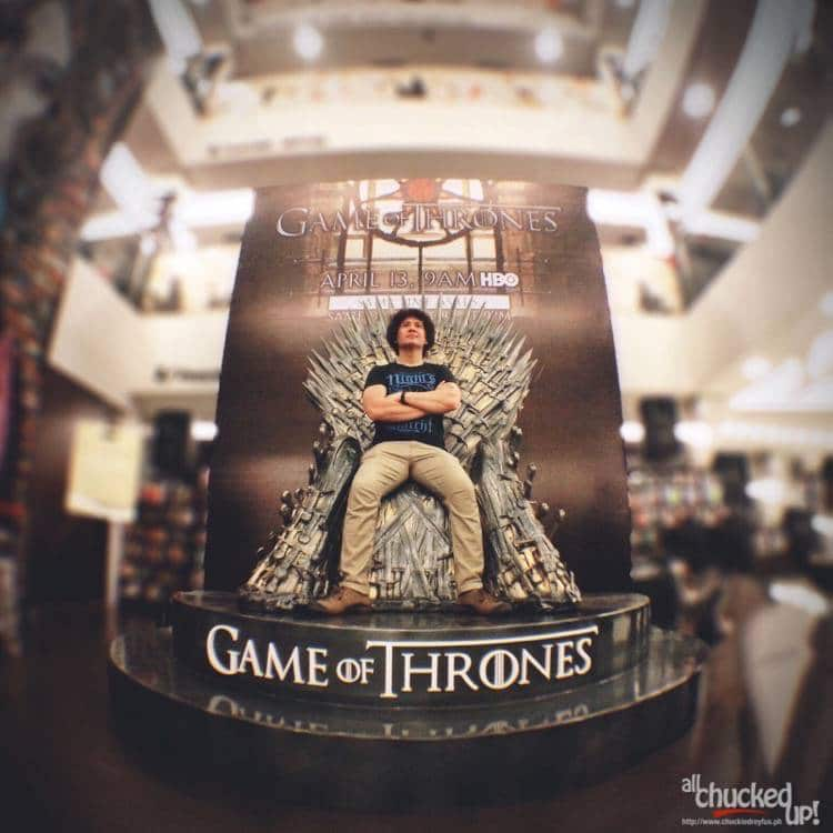 Game of Thrones Season 5 on HBO ASIA and catch the IRON THRONE