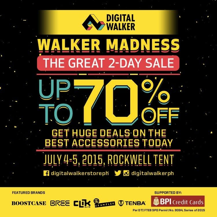 Walker Madness at Digital Walker – The Great 2-Day Sale!