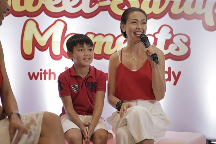 Jodi and Thirdy joins the Jollibee family as the latest Jolly Spaghetti endorsers