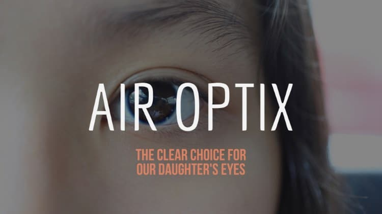 Air Optix Contact Lens – The clear choice for our daughter's eyes