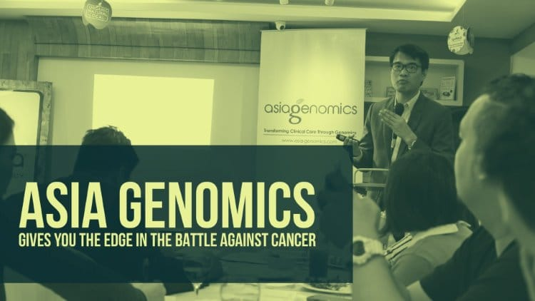 Asia Genomics gives you the edge in the battle against cancer