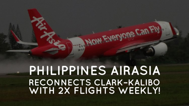 Philippines AirAsia reconnects Clark – Kalibo with 3x flights weekly