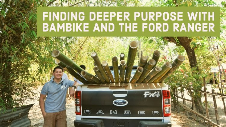 Finding deeper purpose with Bambike and the Ford Ranger