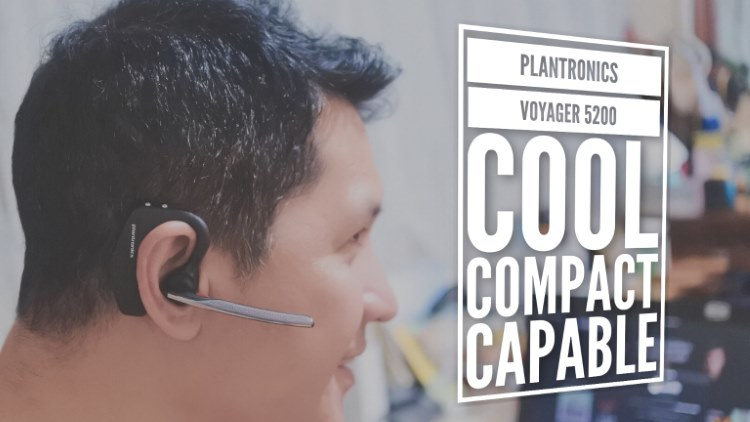The Plantronics Voyager 5200 – A cool and very capable Bluetooth headset